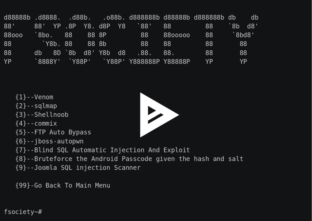 fsociety Hacking Tools Pack – A Penetration Testing Framework