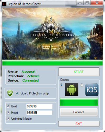 Legion Of Heroes Cheat Telecharger Legion of Heroes Hack [Android / IOS] – Comment Pirater Legion of Heroes Triche
