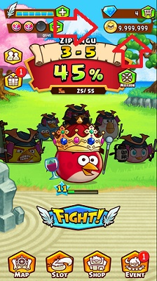 Angry Birds Fight Cheats Hack Tool