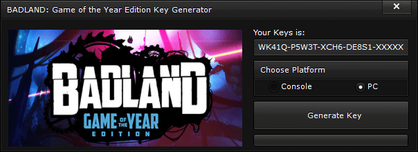 badland game of the year edition key generator free activation code 2015 BADLAND Game of the Year Edition Key Generator – FREE Activation Code 2015