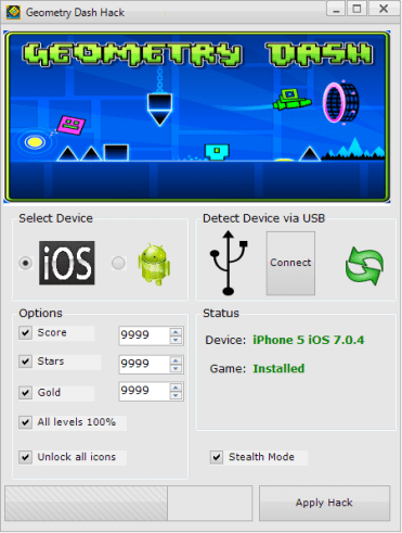 blogimage Telecharger Geometry Dash Hack [Android / IOS] – Comment Pirater Geometry Dash Triche