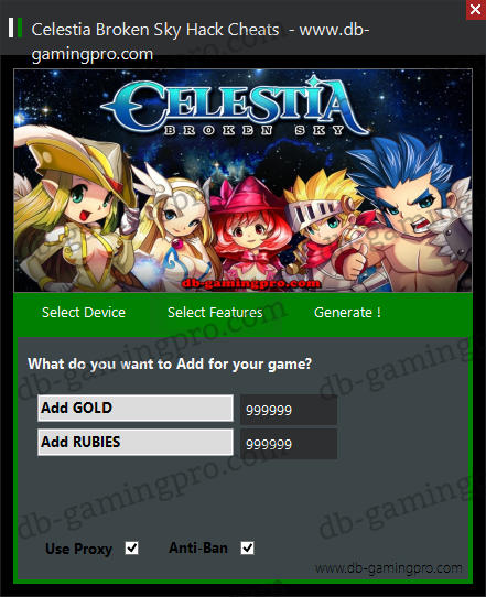 Celestia Broken Sky Hack Cheats