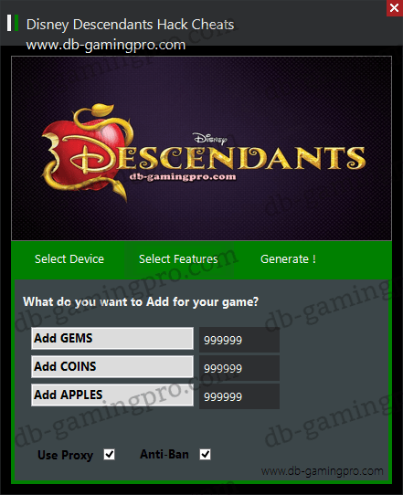 Disney Descendants Hack Cheats