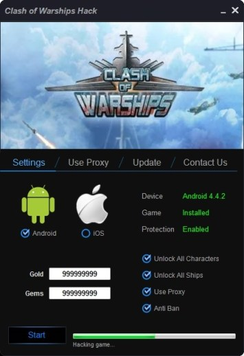 Clash of Warship Hack