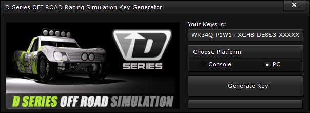d series off road racing simulation key generator free activation code 2015 D Series OFF ROAD Racing Simulation Key Generator – FREE Activation Code 2015