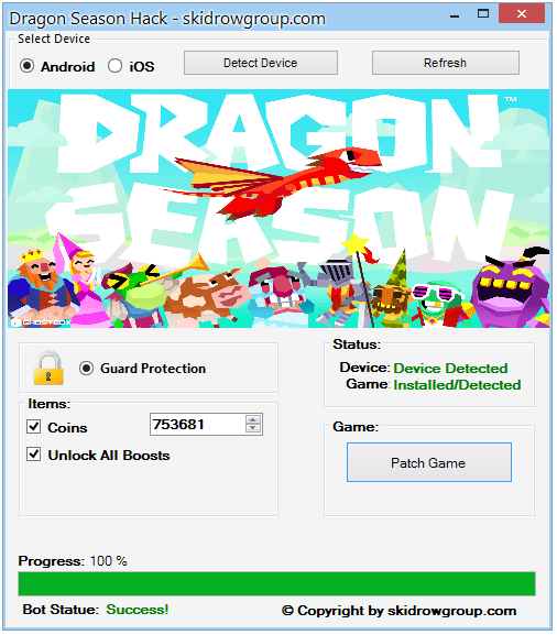 Dragon Season Hack