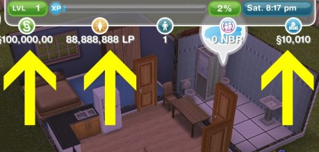 get unlimited simoleons and life points Telecharger The Sims FreePlay Hack [Android / IOS] – Comment Pirater The Sims FreePlay Triche