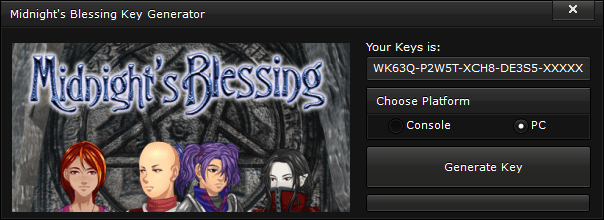 midnights blessing key generator free activation code 2015 Midnight's Blessing Key Generator – FREE Activation Code 2015