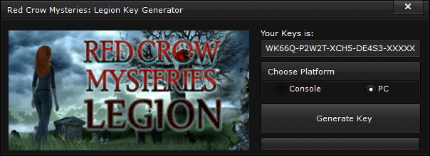 red crow mysteries legion key generator free activation code 2015 Red Crow Mysteries Legion Key Generator – FREE Activation Code 2015