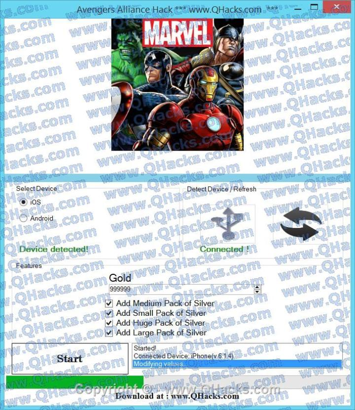Avengers Alliance hacks