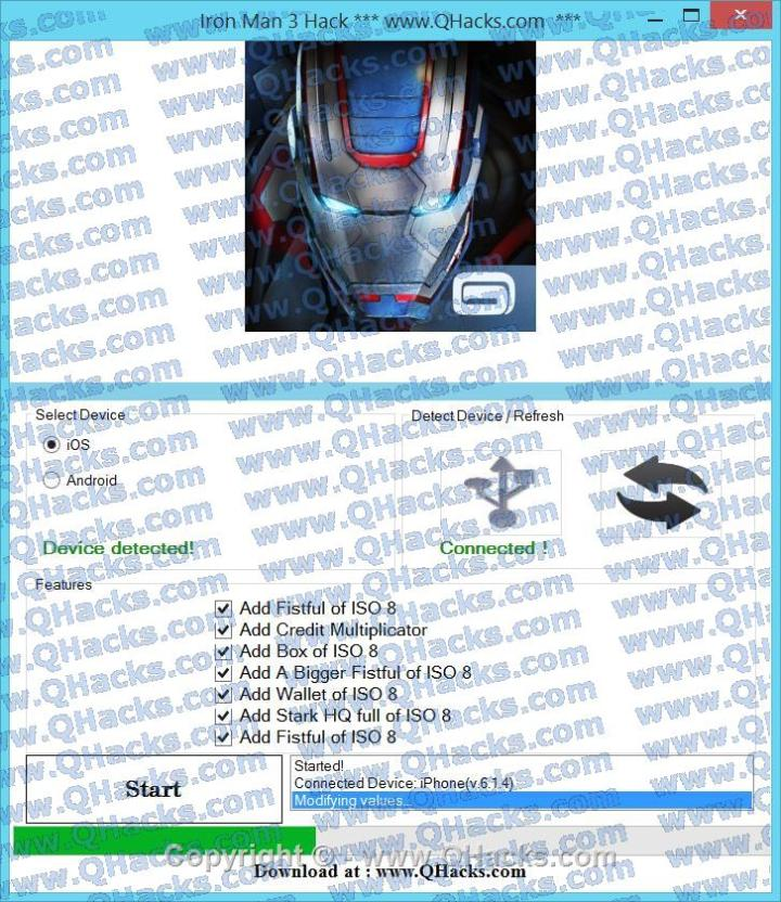 Iron Man 3 Hack Cheats & Tricks
