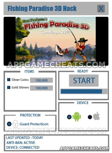 Fishing Paradise 3D Hack for Silver