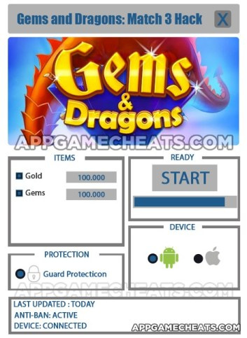 Gems and Dragons: Match 3 Hack