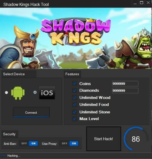 shadow kings hack androidios Shadow Kings Hack (Android/iOS)