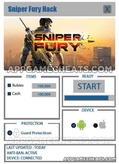 Sniper Fury Hack for Rubies