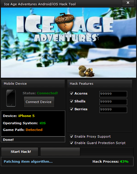 Ice Age Adventures Hack (Android/iOS)