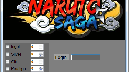 Naruto Saga Hack We comes in power with another hack, a coach for Naruto Saga game. This device was worked of our group and today was done. It is a basic hack with some marvelous capacities like Add Unlimited Ingot, Add Unlimited Silver, Add Unlimited Gift and Add Prestige. You should to sort your record name and afterward to pick the features.Our tool is not oblige secret key to hack the game! Along these lines, this device is protected and everybody can run it without issues. You can attempt it at this moment by download it from beneath catches.
