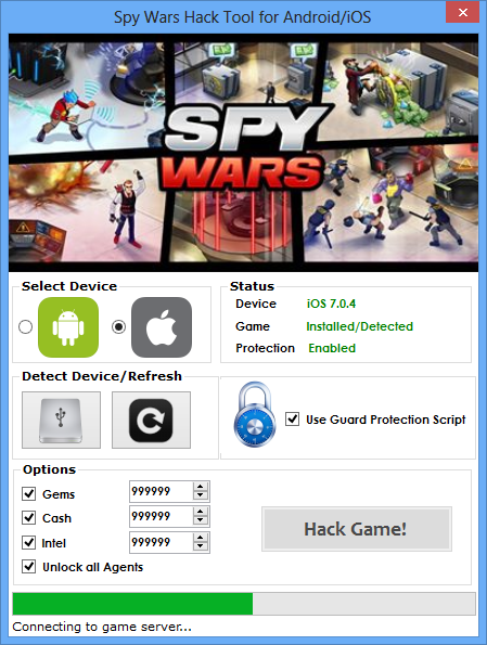 Spy Wars Hack (Android/iOS)