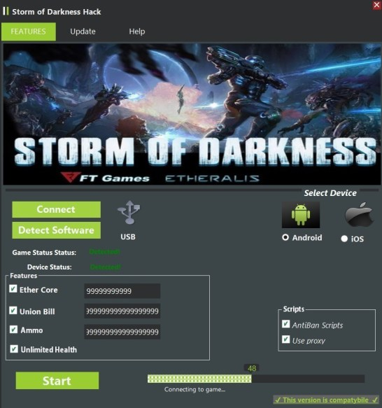 Storm of Darkness Hack (Android/iOS)