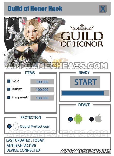 Guild of Honor Hack
