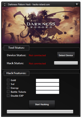 Darkness Reborn Unlimited Gold, SOL Hack