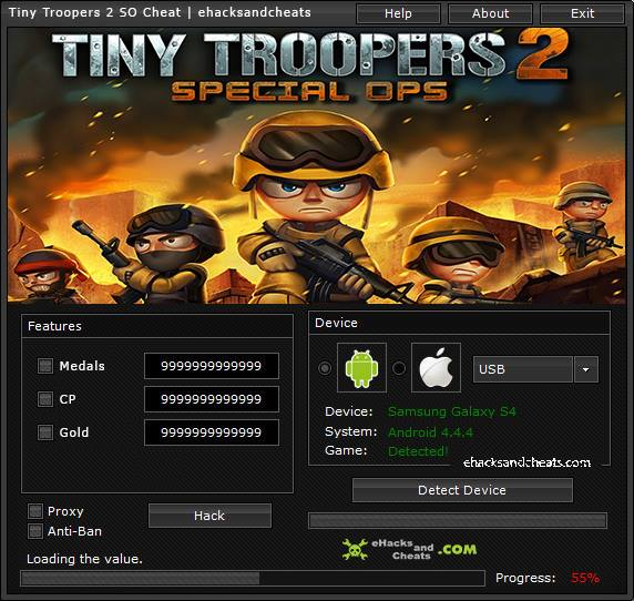 Tiny Troopers 2 Special Ops Cheat