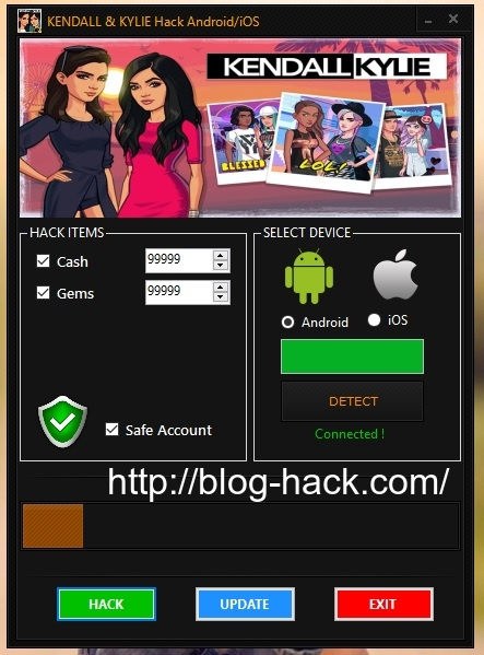 KENDALL and KYLIE Hack Cash Gems
