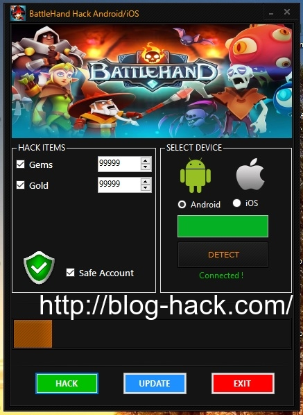 BattleHand Hack Gold Gems