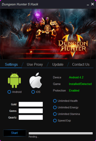 Dungeon Hunter 5 Hack – Unlimited Gems Cheats
