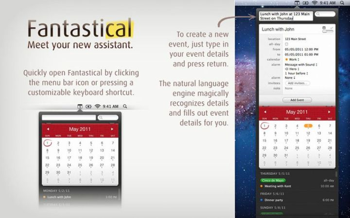 Fantastical for Mac Full