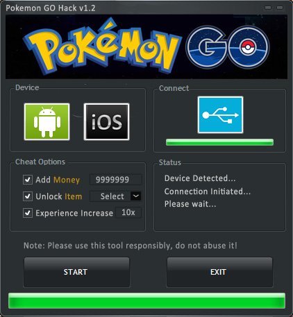Pokemon GO Hack – Unlimited PokeCoin