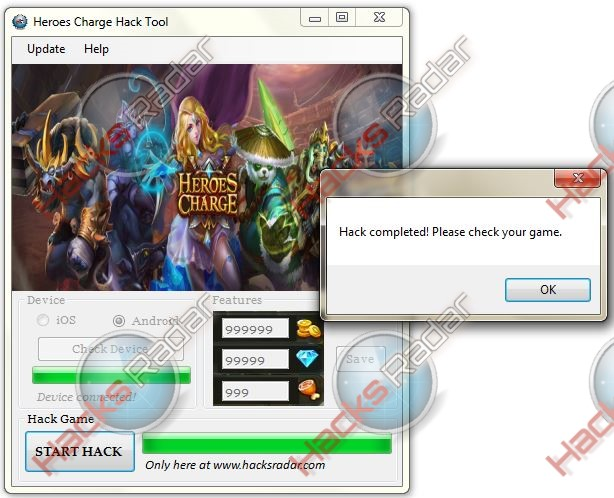Heroes Charge Hack Cheats