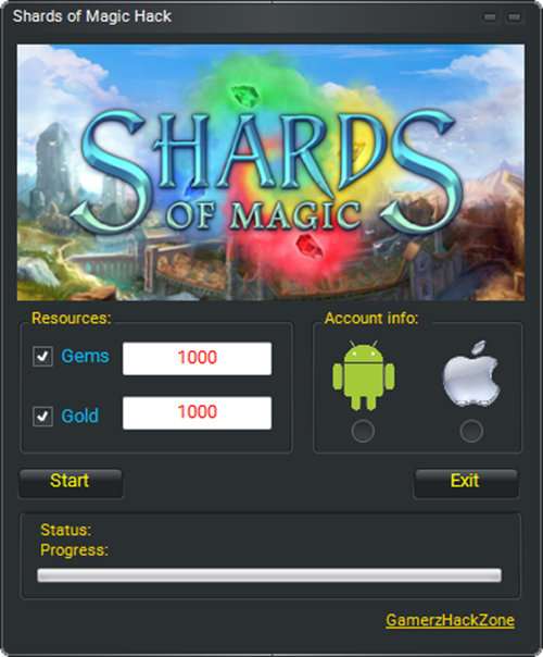 Shards of Magic Hack (Android/iOS)