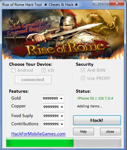 Rise of Rome Hack Tool