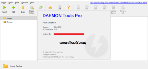 DAEMON Tools Pro 8.2.0.0708 Crack & License Key