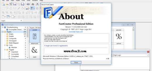 FontCreator Professional Edition 11.0.0.2365 Crack