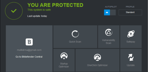 Bitdefender Internet Security 2016 Key, Crack Free Download