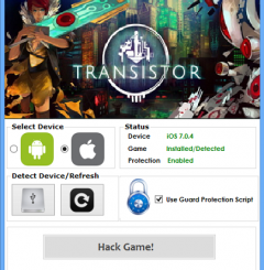 Transistor Hack Cheat Tool