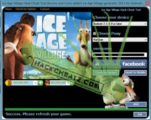 Ice Age Village Hack Cheat Tool