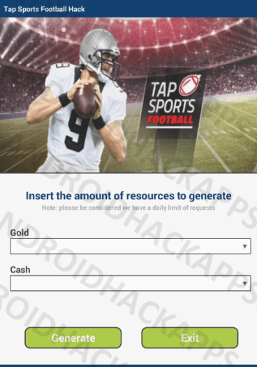 Tap Sports Football Hack APK Gold and Cash