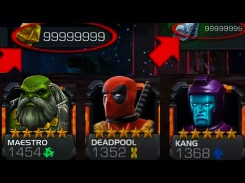 Marvel Contest of Champions Hack & Cheats ( Unlimited Units and Gold )21