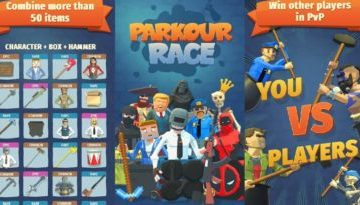Parkour Race PvP Hack, Unlock all for free