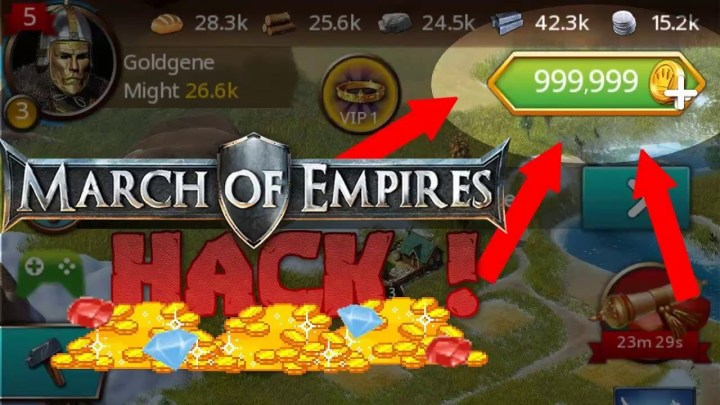 March of Empires Hack Cheats Apk and IOS2