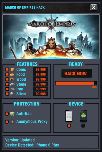 March of Empires Hack Cheats Apk and IOS