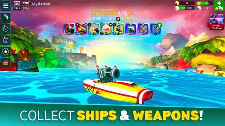 Battle Bay 4.6.22531 Mod Apk + Data (Unlimited Money) Latest Version