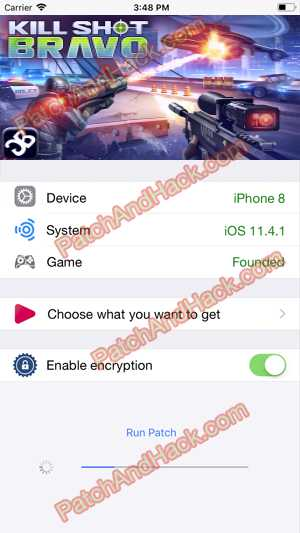 Kill Shot Bravo Hack - patch and cheats for Cartridges, Money and other stuff on Anroid and iOS