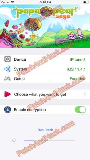 Papa Pear Saga Hack - patch and cheats for Money and other stuff on Anroid and iOS