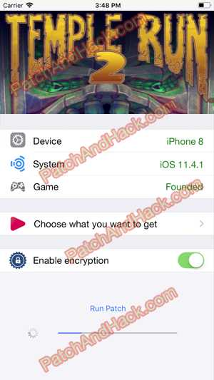 Temple Run 2 Hack - patch and cheats for Money, Coins and other stuff on Anroid and iOS