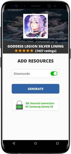 Goddess Legion Silver Lining MOD APK Unlimited Diamonds