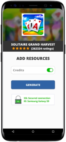Solitaire Grand Harvest MOD APK Unlimited Credits